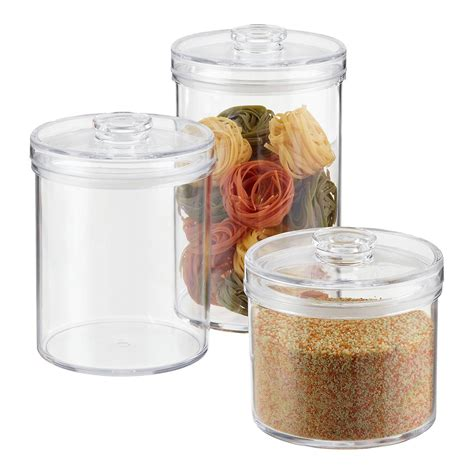 kitchen storage canister acrylic canisters clear acrylic canisters the