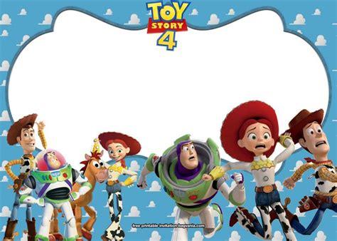 toy story  birthday invitation templates bagvania