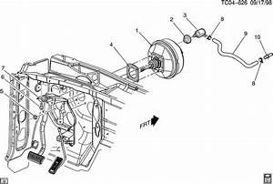 Chevrolet Silverado Fitting  Vacuum Power Brake  Fitting