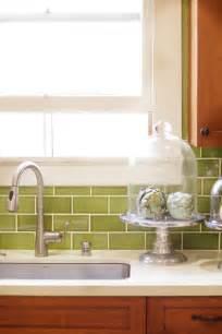 kitchen backsplash green photos hgtv