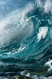 iPhone Wave Wallpaper - WallpaperSafari