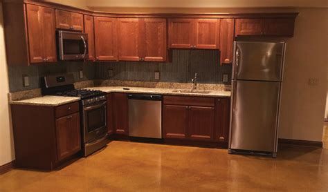 stained concrete kitchen floor stained concrete basement floor concrete craft 5695