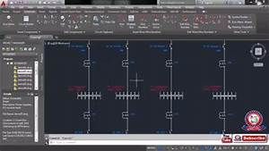 Autocad Electrical Drawing Tutorial Class 06 Draw A Single