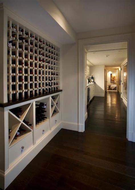 Built In Wine Racks   Transitional   basement   Nantucket