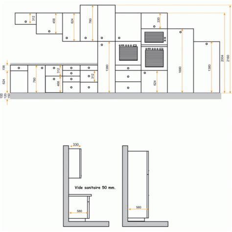 meuble plan de travail cuisine hauteur meuble haut cuisine plan de travail evtod