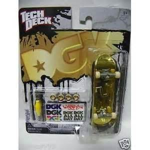 tech deck dgk gold dipped limited edition mini skateboard on popscreen