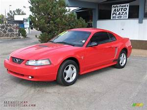 2002 Ford Mustang V6 Coupe in Torch Red photo #2 - 125799 | All American Automobiles - Buy ...