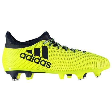 green mens adidas x 17 3 jnr football boots ground boots
