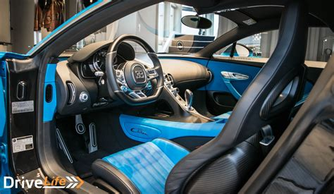 The chiron is an unique masterpiece of from inside, the glass roof enables a view into another dimension, flooding the cockpit with natural light. Up Close and Personal With A Bugatti Chiron - DriveLife ...