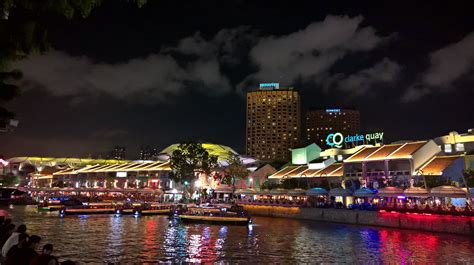 Boat Quay Ride Singapore by Go Restaurant Hopping In Clarke Quay Singapore Wheels