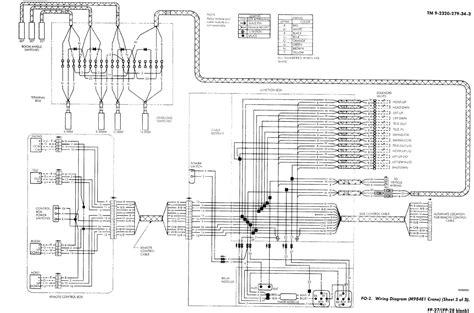 crane wiring diagram schematic wiring diagram