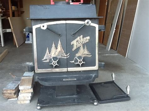 Used Fisher wood stove   Nex Tech Classifieds