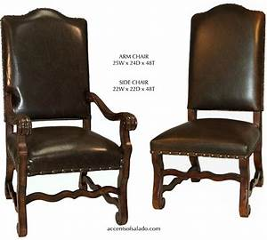 rustic leather dining room chairs With rustic leather dining room chairs