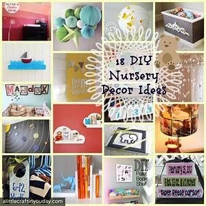 18 DIY Nursery Decor Ideas - A Little Craft In Your Day