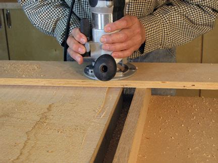 surface rough lumber   router woodworking blog
