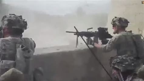 Graphic Afghanistan Combat Footage