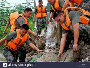 Wuhu  China  06th July  2016  The Linfen Brigade Of The Chinese Stock Photo  109982319
