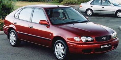 2000 Toyota Corolla Review by 2000 Toyota Corolla Ascent Seca Review Caradvice