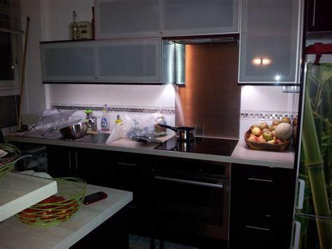 eclairage meuble cuisine eclairage led d 39 un plan de travail 57 messages