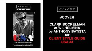 Clark Bockelman At Wilhelmina Models By Anthony Batista On