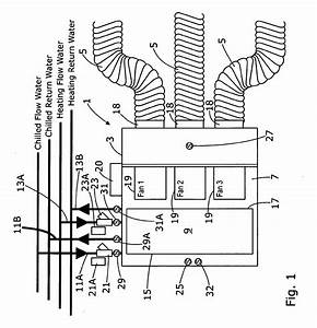 patent ep2481996a1 a fan coil air conditioning system a With fan coil unit diagram air conditioning unit diagram fan coil unit fan