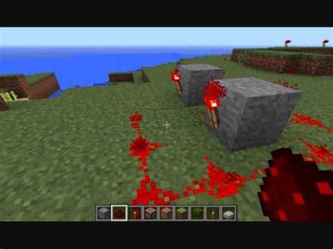 Minecraft How Make Flashing Redstone Circuit Youtube