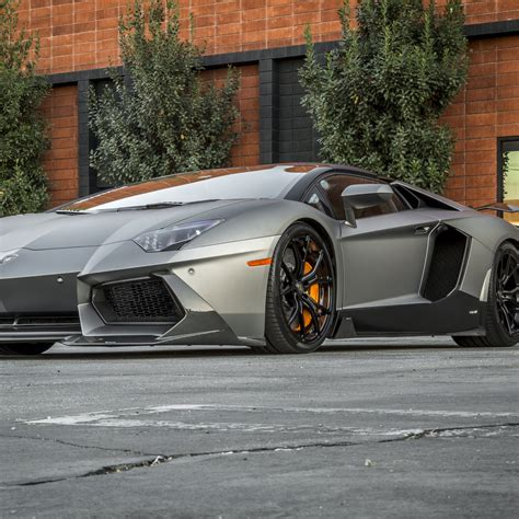 Lamborghini Aventador Lamborghini Silver Car Supercar