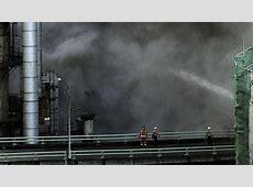 Incendio en la refinería de Repsol de La Coruña ABCes