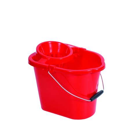 plastic strainer type mop bucket red mop buckets