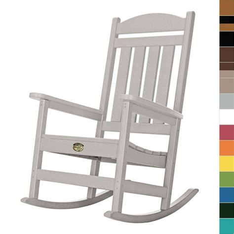 Outdoor Porch Chairs by Pawleys Island Porch Rocker Rocking Chair Poly Durawood