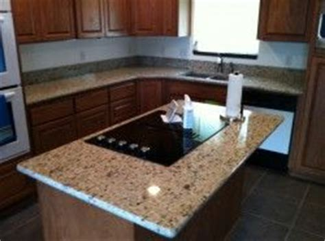 sensa crema pearl granite kitchen