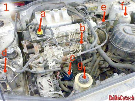faire la vidange moteur renault m 233 gane i 1 9 d f8q tuto