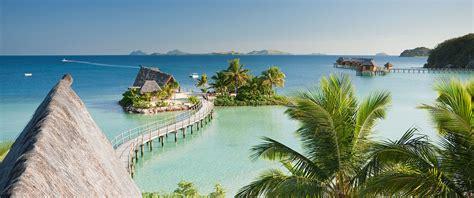 Fiji Overwater Bungalow Vacation Package Honeymoon