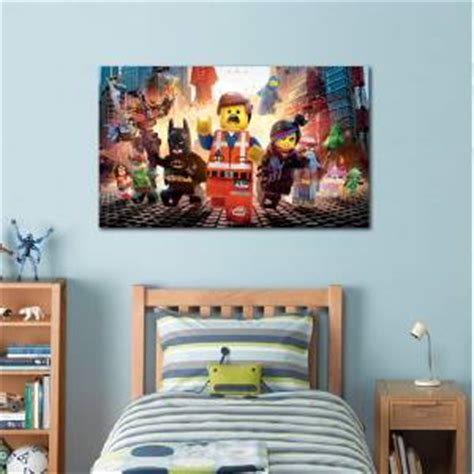 4 Sizes  Lego Movie Canvas Print Home Wall Decor Art