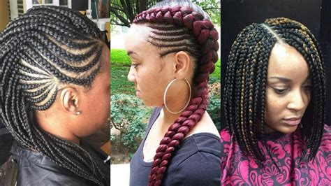 2019 #african Black Braided Hairstyles That Turn Heads