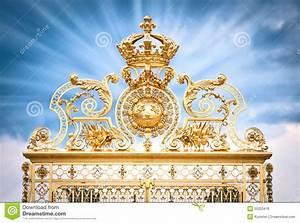 Achat Or Versailles : ch teau versailles de porte d 39 or image libre de droits image 25223476 ~ Medecine-chirurgie-esthetiques.com Avis de Voitures