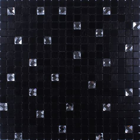 metallic mosaic tile glass adhesive tile