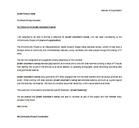 volunteer letter of recommendation 10 letter of recommendation for student pdf doc free 25455 | Editable Letter of Recommendation for Student Volunteer