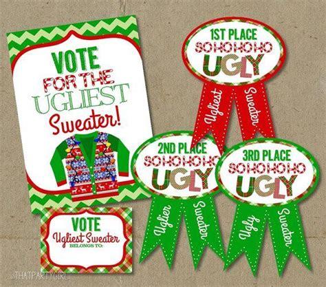 unique ugly sweater contest ideas  pinterest diy