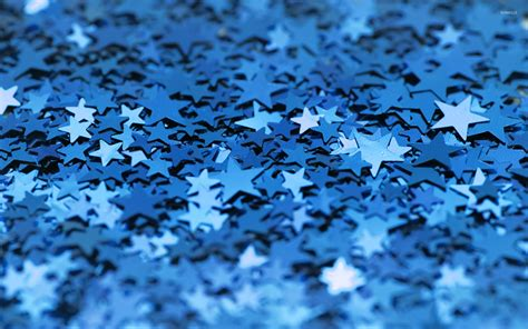 Cool Blue Background Hd Blue Stars Wallpaper Wallpapersafari