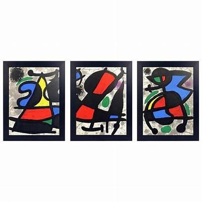 Joan Lithographs Miro Miro Lithograph Tapestry 1stdibs