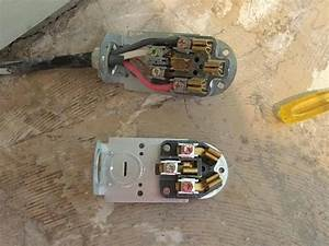 Changing A 4 Wire Electrical Cord To A 3 Wire Electrical Cord For A Range In A 1905 Home