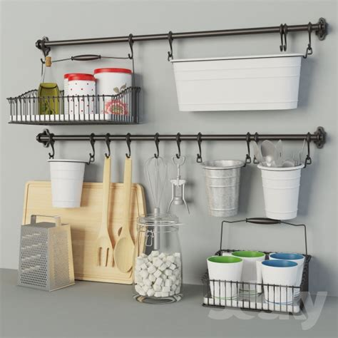 Kitchen Accessories Sets by 3d Models Other Kitchen Accessories Ikea Kitchen Set