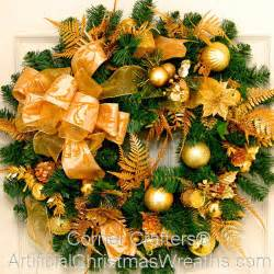 golden splendor christmas wreath artificialchristmaswreaths com christmas wreaths