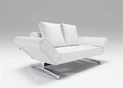canapé lit bz canap 201 lit design ghia blanc convertible 90 210cm