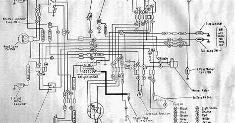 Combination Switch Wiring Diagram Honda by Wiring Diagrams And Free Manual Ebooks Classic Honda C110