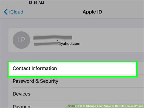 how to change apple id on iphone 5 how to change your apple id birthday on an iphone 15 steps