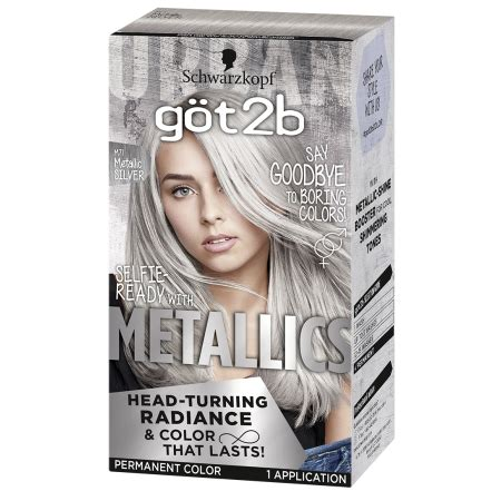 Silver Permanent Hair Color - Best Hair Color 2017