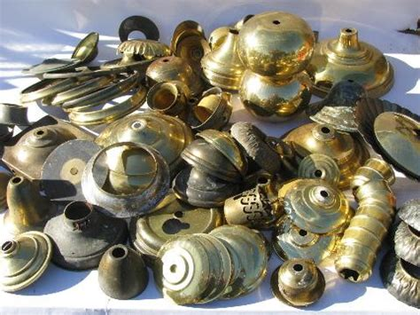 solid brass l parts lot vintage chandelier light