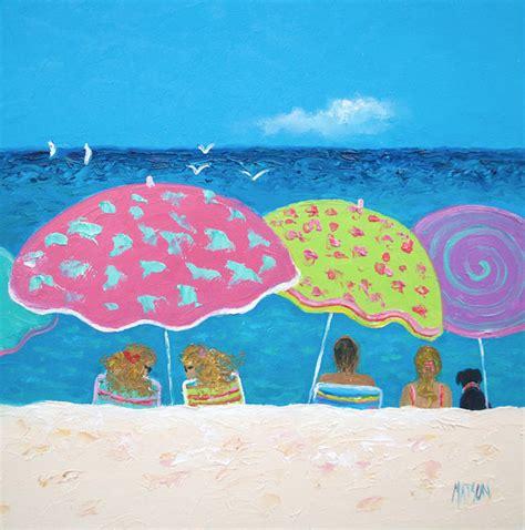 Whimsical Beach Paintings